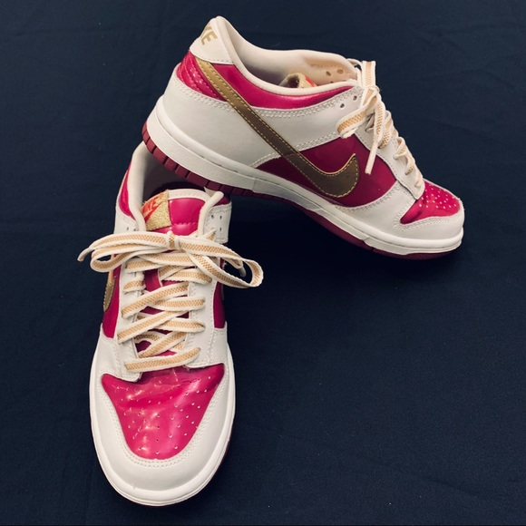 Nike Dunk Low GS 'Rave Pink Gold'